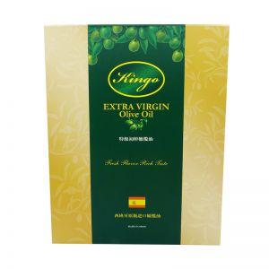 西班牙进口特级初榨橄榄油500ML两瓶礼盒装